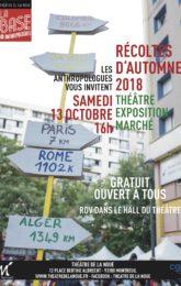 RÉCOLTES D'AUTOMNE 2018